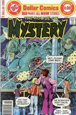 The House of Mystery (Grapa) #254