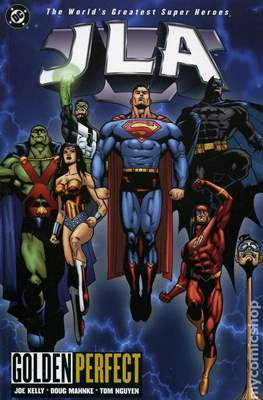 JLA Vol. 1 (1997-2006 Variant Cover) #10