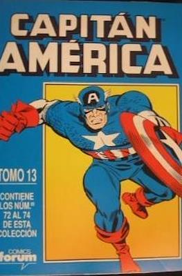 Capitán América Vol. 1 (1985-1992) (Retapado Rústica) #13