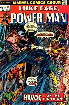 Hero for Hire / Power Man Vol 1 / Power Man and Iron Fist Vol 1 (Comic Book) #18