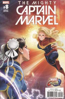 The Mighty Captain Marvel (2017-) Variant Covers #8.1