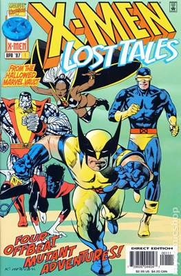 X-Men Lost Tales #1