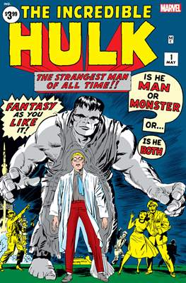 The Incredible Hulk - Facsimile Edition (Comic Book) #1