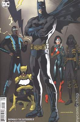 Batman and The Outsiders Vol. 3 (2019-Variant Cover) (Comic Book) #8