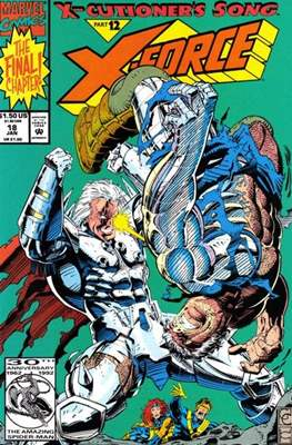 X-Force Vol. 1 (1991-2002) (Comic Book) #18