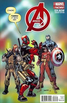 Avengers Vol. 5 (2013-2015 Variant Covers) (Comic Book) #24.2