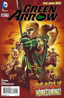 Green Arrow vol. 5 (2011-2016) (Comic-Book) #24