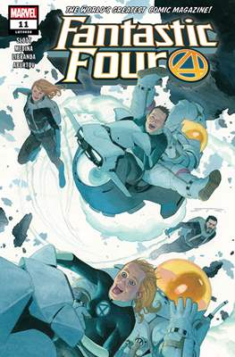 Fantastic Four Vol. 6 (2018-...) #11