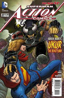 Action Comics Vol. 2 (2011-2016) (Grapa) #27