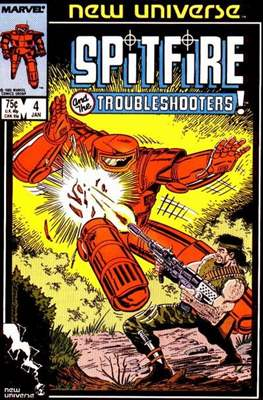 Spitfire and the Troubleshooters / Codename: Spitfire #4