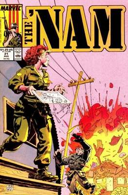 The 'Nam Vol 1 (Comic-book.) #21