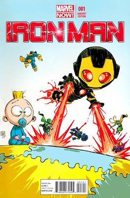 Iron Man Vol. 5 (2012-2014 Variant Cover)