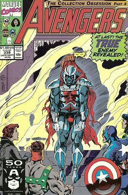 The Avengers Vol. 1 (1963-1996) (Grapa) #338