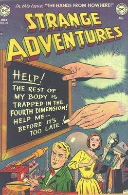 Strange Adventures (Comic Book) #22