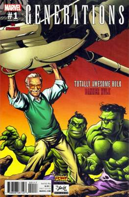 Generations - The Strongest Banner Hulk and Totally Awesome Hulk (Variant Cover) #1.4