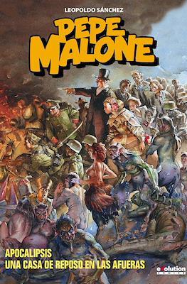 Pepe Malone: Apocalipsis / Una casa de reposo en las afueras (Cartoné 80 pp) #