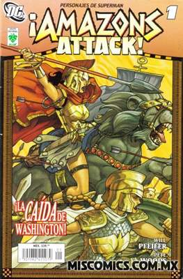 ¡Amazons Attack! #1