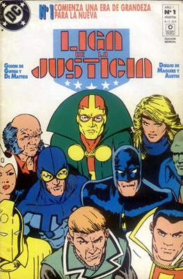 Liga de la Justicia Internacional - Liga de la Justicia América