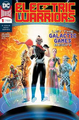 Electric Warriors (Comic Book) #1