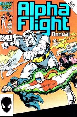 Alpha Flight Annual vol. 1 (1986-1987)