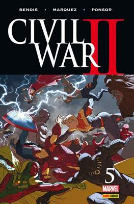 Civil War II (2016-2017) (Grapa. Color) #5
