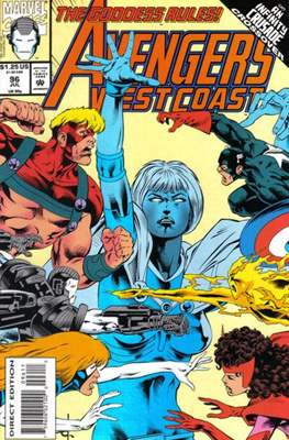 West Coast Avengers Vol. 2 (Comic-book. 1985 -1989) #96