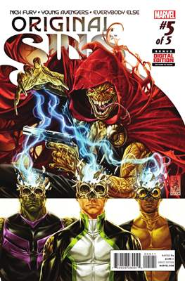 Original Sins (Comic Book) #5