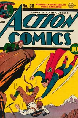 Action Comics Vol. 1 (1938-2011; 2016-) (Comic Book) #38