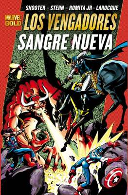 Los Vengadores. Marvel Gold (Rústica con solapas) #16