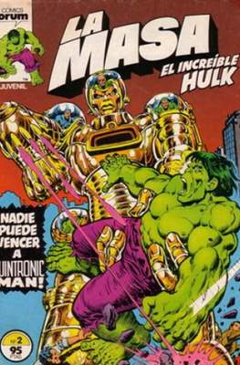 La Masa. El Increíble Hulk (Grapa 36-32 pp) #2