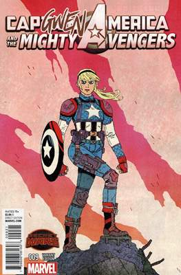 Captain America and the Mighty Avengers (Variant Covers) (Comic Book) #9
