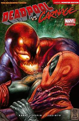 Deadpool vs Carnage. Marvel Monster Edition