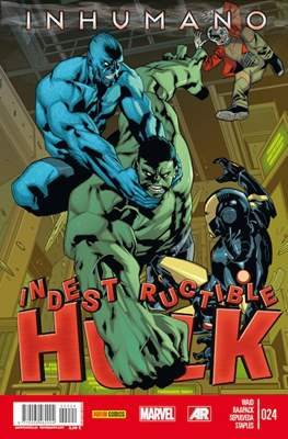 El Increíble Hulk Vol. 2 / Indestructible Hulk / El Alucinante Hulk / El Inmortal Hulk (2012-) (Comic Book) #24