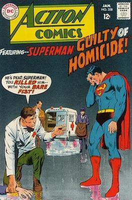 Action Comics Vol. 1 (1938-2011; 2016-) (Comic Book) #358