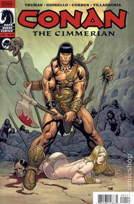 Conan the Cimmerian (2008-2010) (Grapa) #1