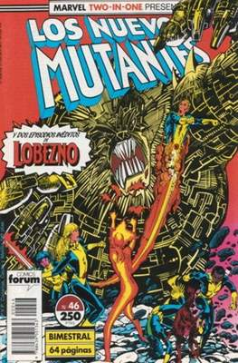 Los Nuevos Mutantes Vol. 1 (1986-1990) (Grapa 32-64 pp) #46