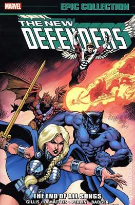The Defenders Epic Collection #9