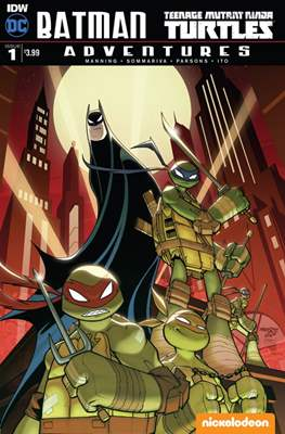 Batman / TMNT Adventures