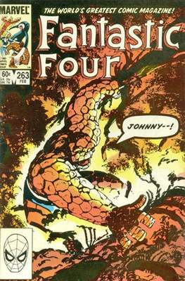 Fantastic Four Vol. 1 (1961-1996) (saddle-stitched) #263