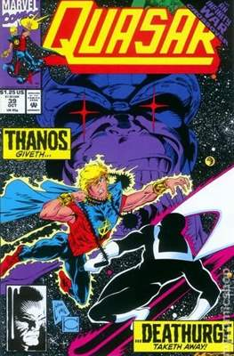 Quasar Vol. 1 (1989-1994) (Comic.Book) #39