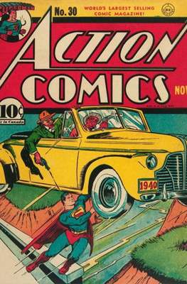 Action Comics Vol. 1 (1938-2011; 2016-) (Comic Book) #30
