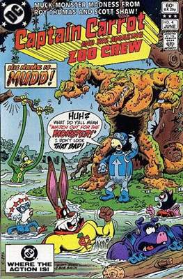 Captain Carrot and His Amazing Zoo Crew #4