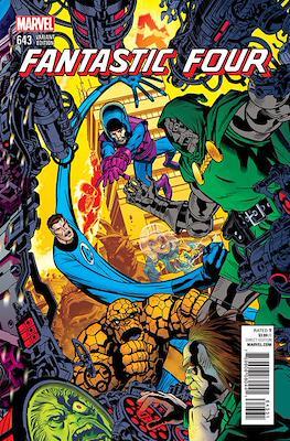 Fantastic Four Vol. 5 (Variant Cover) (Comic Book) #643.1
