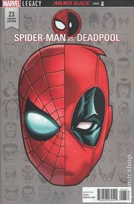 Spider-Man / Deadpool (Variant Cover) (Comic Book) #23.1