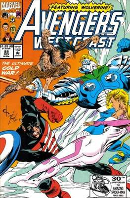 West Coast Avengers Vol. 2 (Comic-book. 1985 -1989) #88