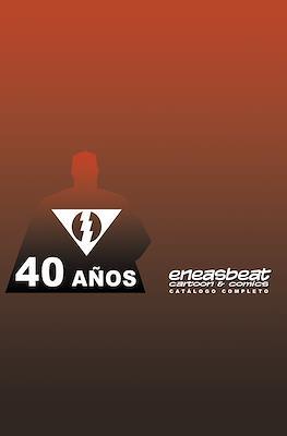 Catálogo Eneasbeat 40 Años (Grapa) #