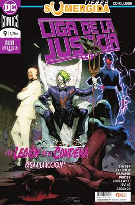 Liga de la Justicia. Nuevo Universo DC / Renacimiento (Grapa) #87/9