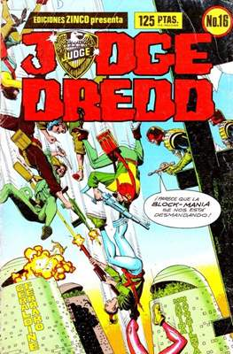 Judge Dredd (Grapa) #16