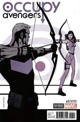 Occupy Avengers (2016-2017 Variant Covers) #1.2