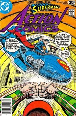 Action Comics Vol. 1 (1938-2011; 2016-) (Comic Book) #482